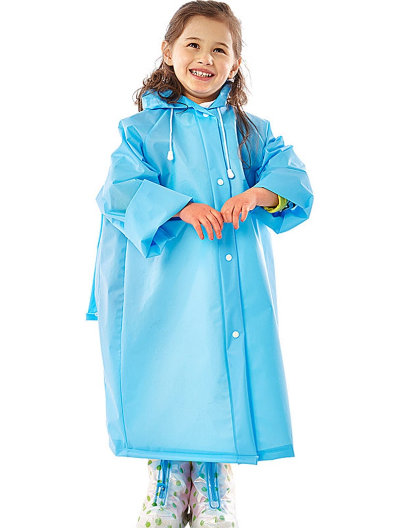 Rain Poncho for Kids, Outgeek Raincoats with Backpack Cover Rain Suit for Kids Children Boys Girls by Outgeek