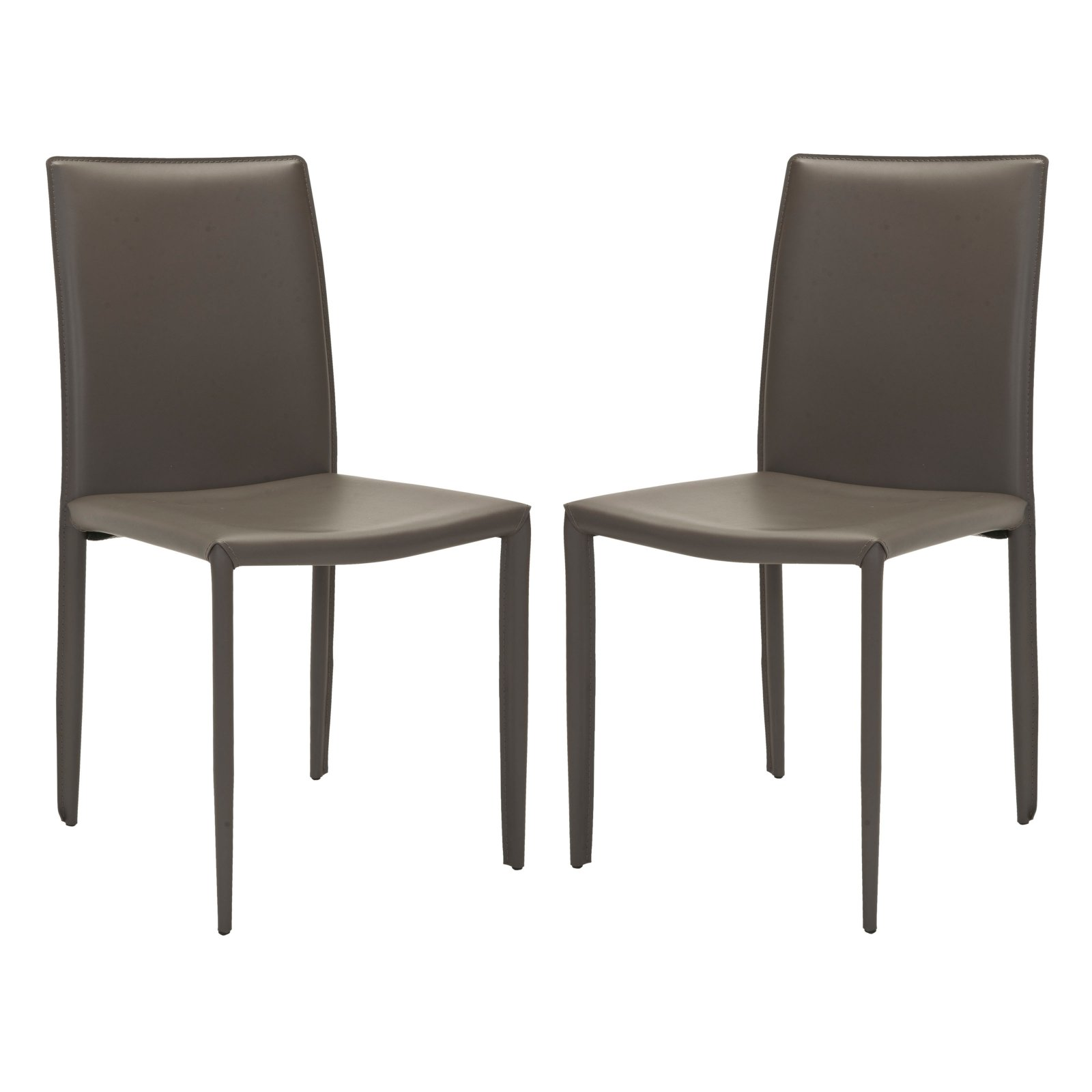 Safavieh Eloise Dining Side Chairs Gray Set Of 2
