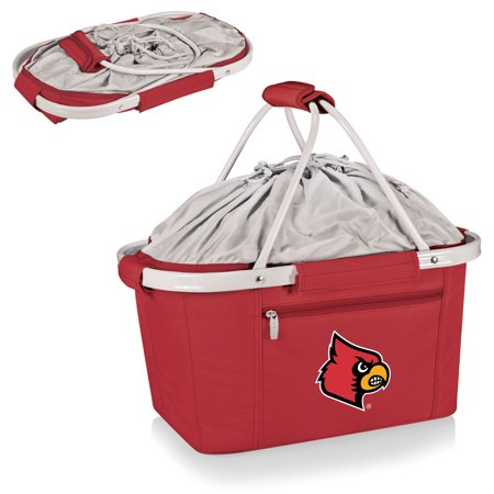 Louisville Cardinals Metro Basket Collapsible Tote - Red - No (Cardinal Basket)