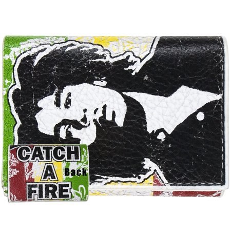 Bob Marley - Catch A Fire Leather Wallet ()