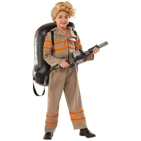 Ghostbusters Movie: Ghostbuster Female Deluxe Child Halloween - Cheap Ghostbusters Costume