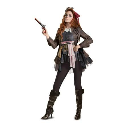 Jack Sparrow Women Costume - Jack Sparrow Womens Costume