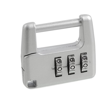 Samll 3 Digit Lock Combination Security Safe Travel Luggage Code Padlock 4