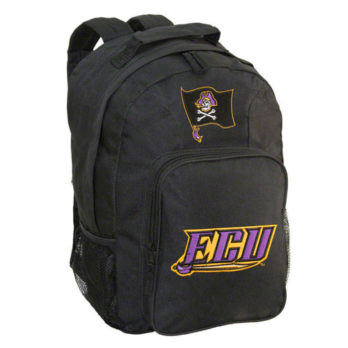 NCAA - East Carolina Pirates Black Youth Southpaw Backpack