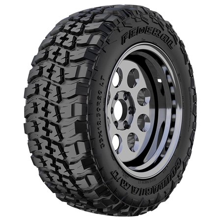 Federal Couragia M/T Mud-Terrain Tire- LT265/75R16 10 PR 123/120Q