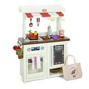 Little Tikes First Market Kitchen Pretend Play Kitchen w/ Over 20 Accessories