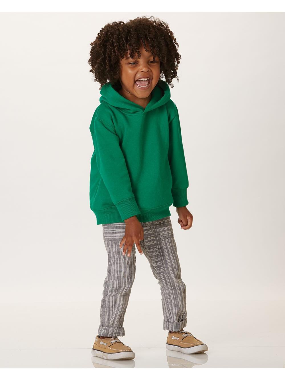 Fleece Toddler Pullover Fleece Hoodie