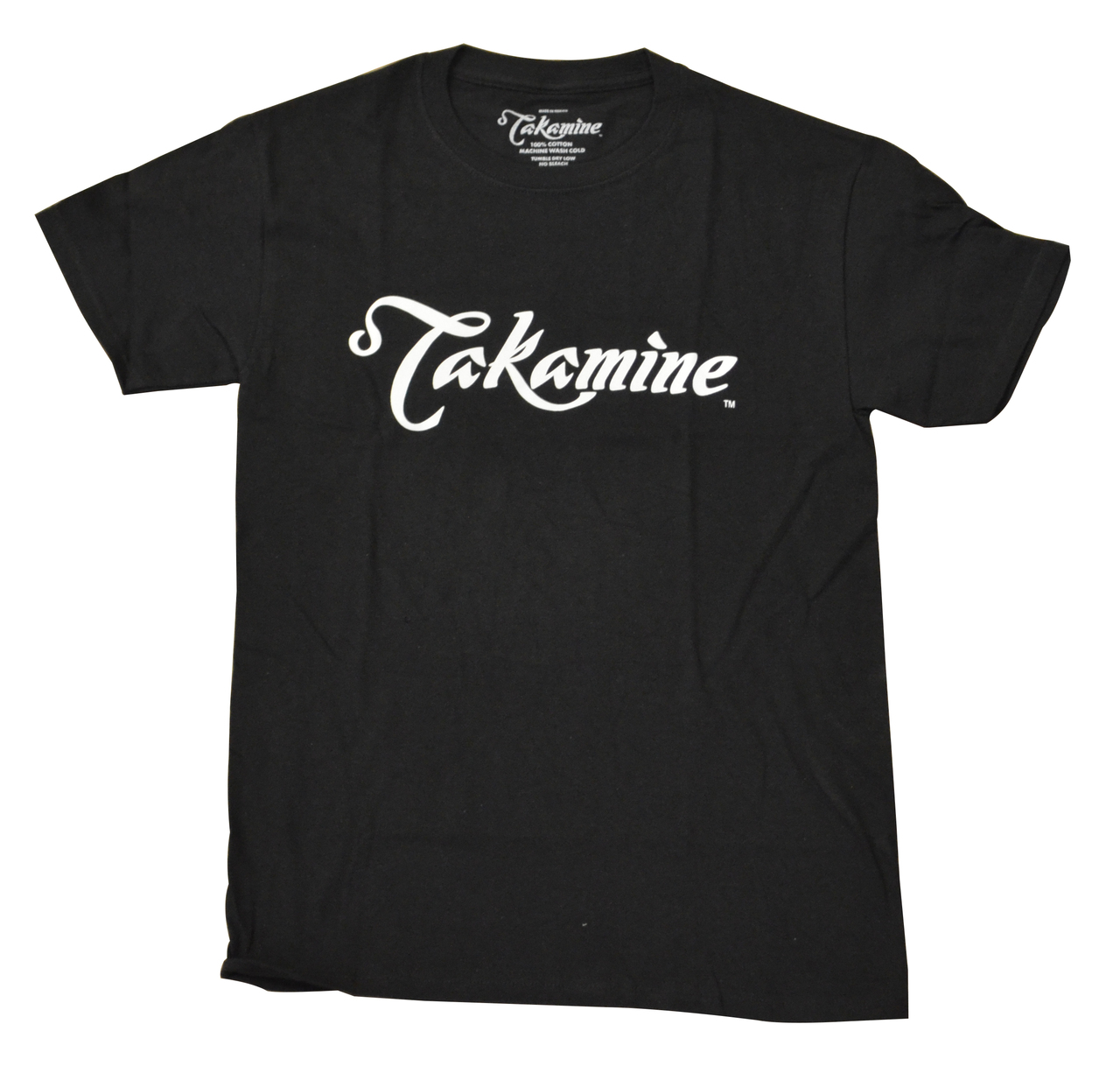 Takamine Logo Tee Shirt - Black Small