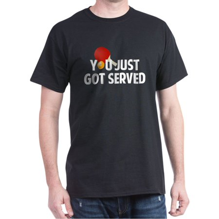 CafePress - Got Served - Table Tennis - 100% Cotton T-Shirt