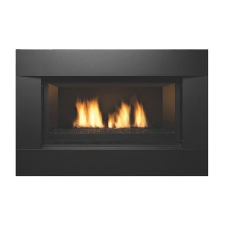 Direct Vent Linear 36 Gas Fireplace Liquid Propane