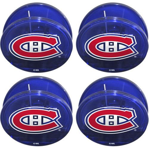 NHL Montreal Canadians Magnetic Chip Clip Set, 4pk 327089