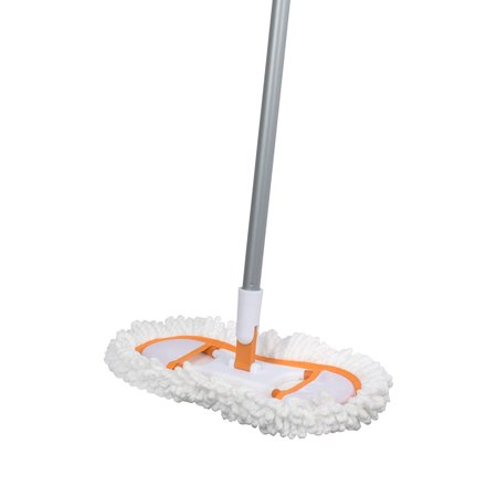 Flexible Floor Duster (Basics Flexible Microfiber Floor Duster, Silver and Orange, Refill# 87603 available for the floor duster By)