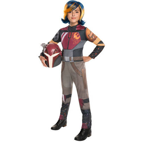 Rubie's Costumes Star Wars Rebels Sabine Wren Child Halloween Costume