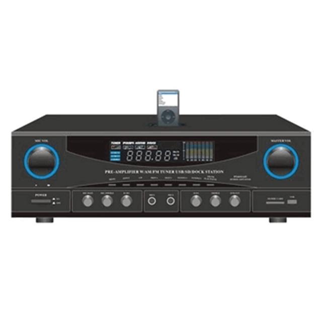 Pyle Stereo Receiver AM-FM Tuner;#44; 500W Peak