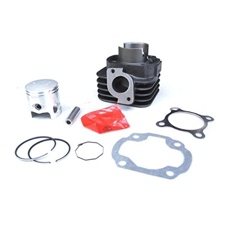 Lumix GC Gasket Clip Piston Kit Cylinder For 2 Stroke 50CC JOG Minarelli 1E40QMB Scooter Moped Atv -