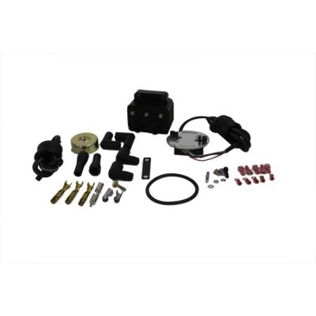 Single Fire Kit - Single Fire Ignition Kit with 8.5mm Wire Diameter Coil,for Harley Davidson,by V-Twin