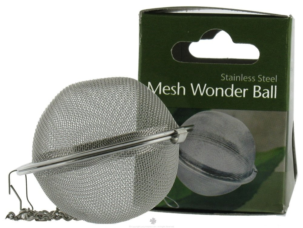 Harold Import Stainless Steel Mesh Wonder Tea Ball 2 inch by HAROLD IMPORTS