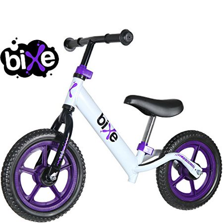 d01b18e450c Fox Air Beds (4 LBS) Balance Bike for Kids and Toddlers - ALUMINUM Light  Weight No Pedals Push and Stride Walking Bicycle (Purple) - Walmart.com