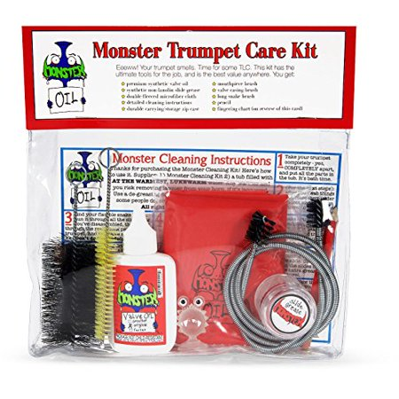 Monster Trumpet Care and Cleaning Kit (912 Cleaning Kit)