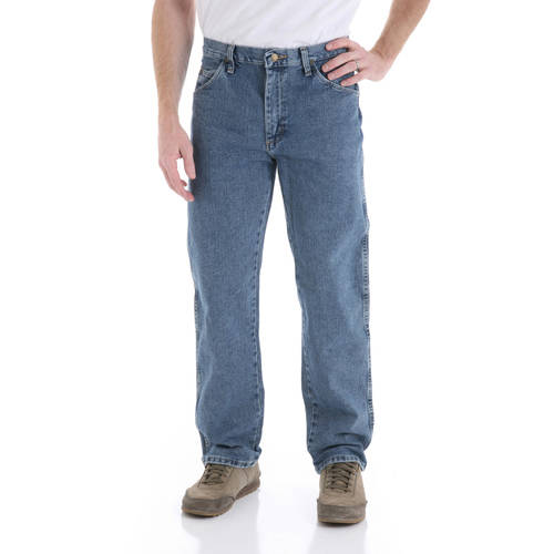 Wrangler Men's Regular Fit Jeans - Walmart.com
