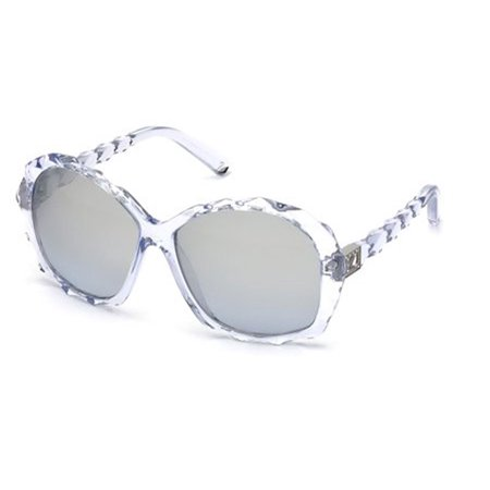 bda11ed24e Swarovski Eyewear - Swarovski Eyewear Women s SK0002 Sunglasses CLEAR 60 -  Walmart.com