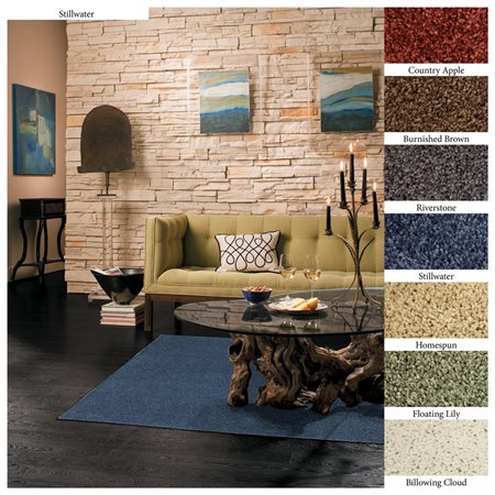 Mohawk Home's Pet Friendly Smart Strand Satin Area Rug