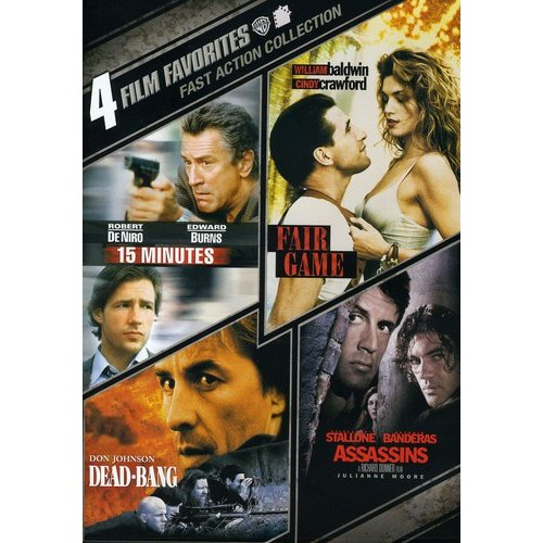 4 Film Favorites: Fast Action - 15 Minutes / Fair Game / Assassins / Dead-Bang