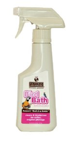 Natural Chemistry Bird Bath Natural Enzyme Based Cleaner and Deodorizer for Birds, 8-Ounce Multi-Colored