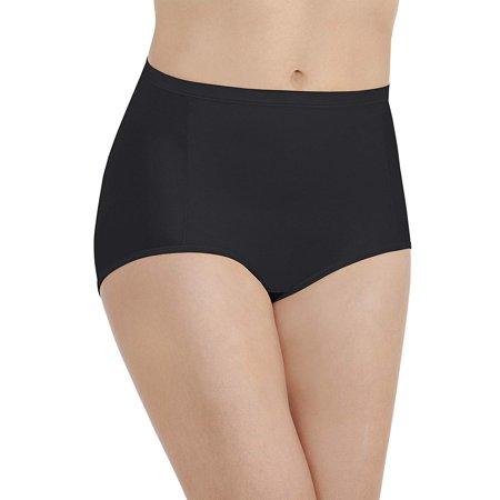 Vanity Fair Womens Smoothing Comfort Brief, 8, Mystified Zebra Vanity Fair Daywear Solutions