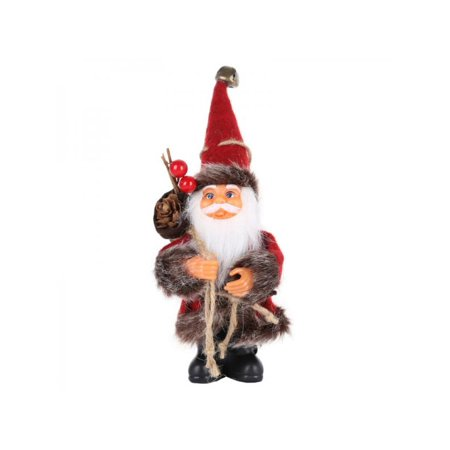VICOODA Standing Santa Claus Christmas Figure, Plush Toy Decorations, Yule Santa Decorations, Winter Table Desk Ornaments, Xmas Elf Gifts](Elf Door Decoration)