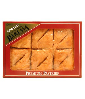 Baklava with Walnuts and Honey CASE 6x12pieces(22oz) by