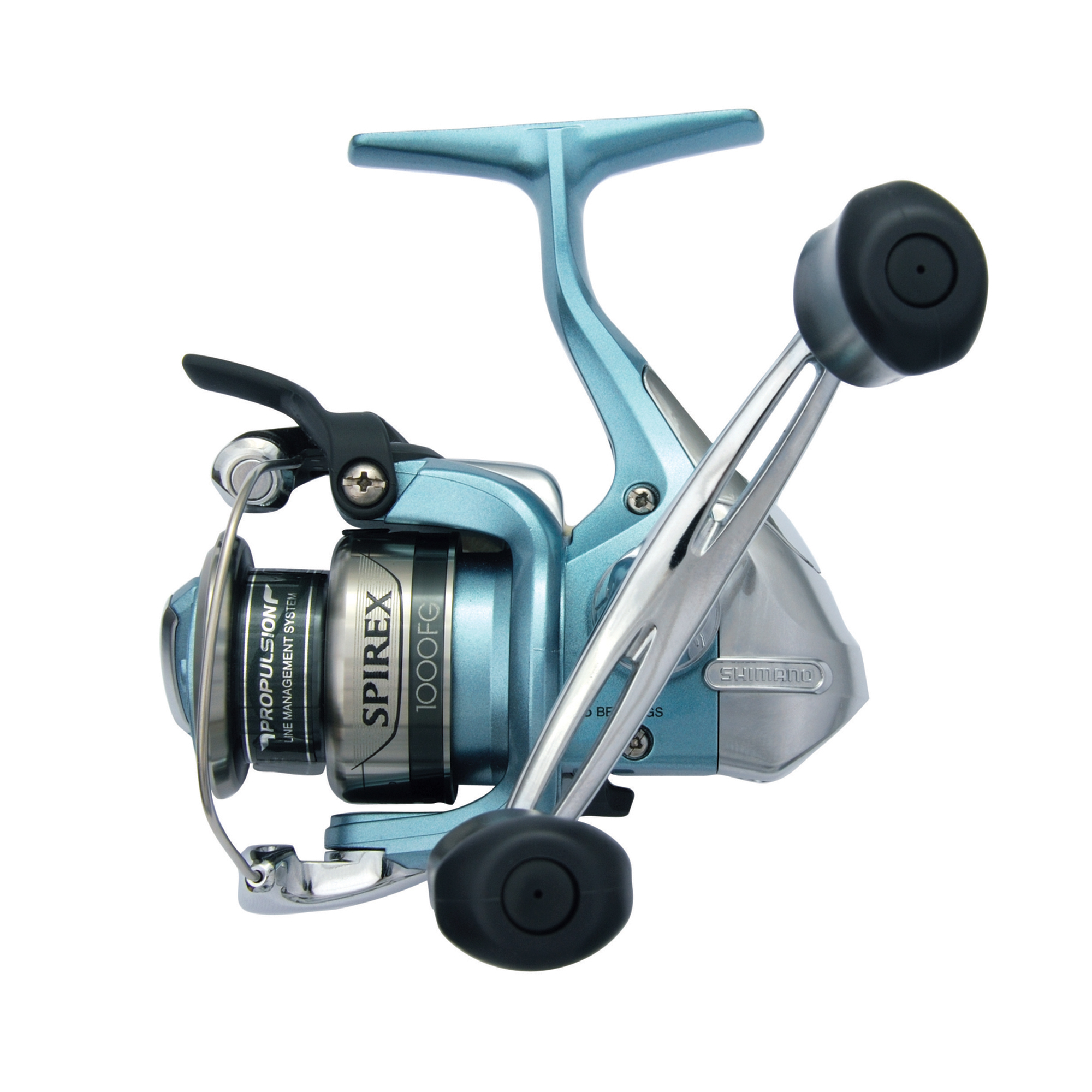 "Shimano Spirex Front Drag Spinning Reel 1000 Reel Size, 6.2:1 Gear Ratio, 28"" Retrieve Rate, 6 Bearings, Ambidextrous"