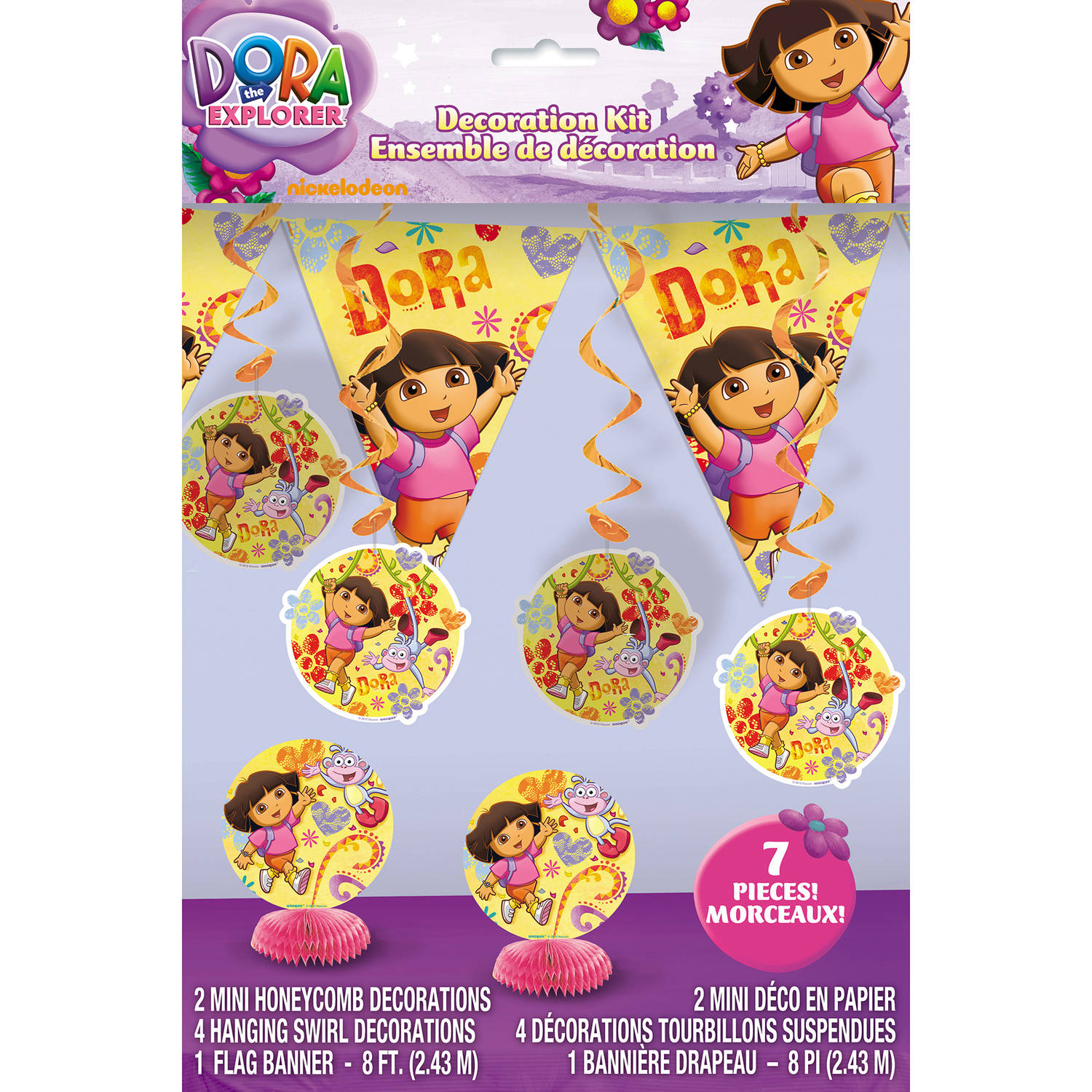 Dora the Explorer Decorating Kit, 7 Pieces