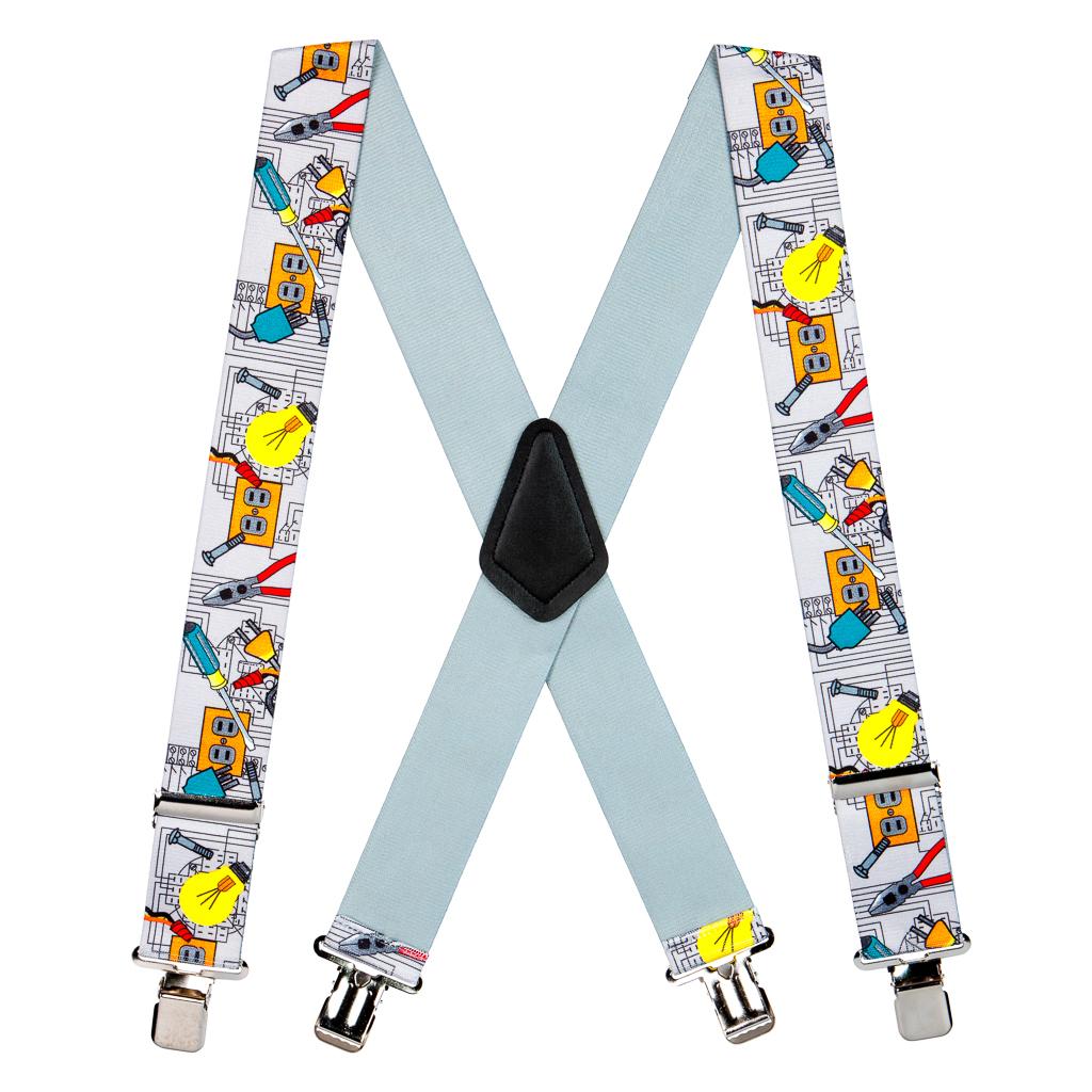 SuspenderStore Mens Australian Flag Suspenders