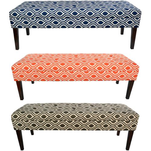 MJL Designs Kaya Tufted Bench