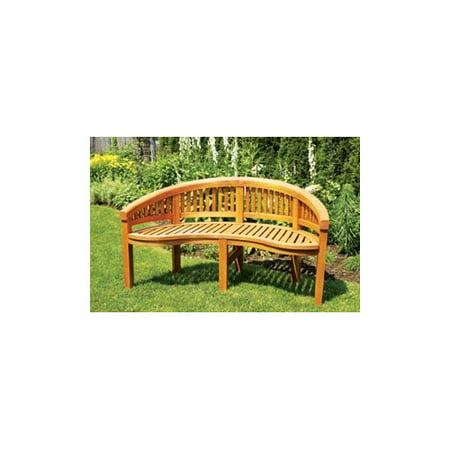 Achla Monet Wood Garden Bench