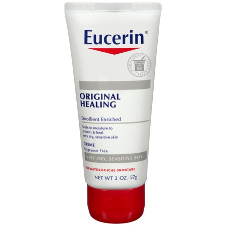 Rub 2 Ounce Cream - Eucerin Original Healing Rich Creme 2 oz.