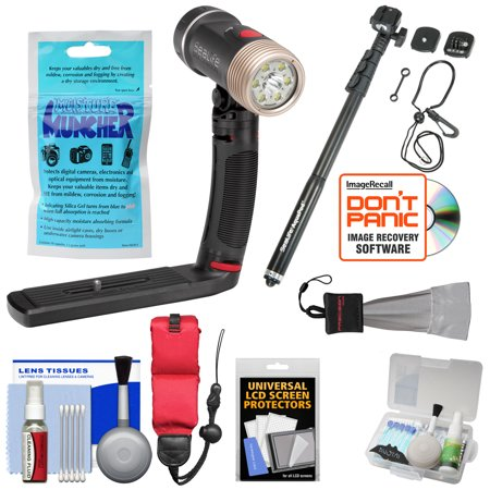 Sealife Sl670 Sea Dragon 2100 Uw Photo Video Dive Light Kit With Aquapod   Silica Gel   Floating Strap   Accessory Kit