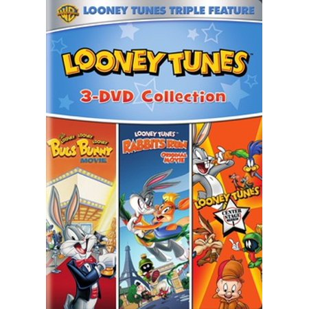 Looney Tunes: Rabbits Run / The Looney, Looney, Looney Bugs Bunny Movie / Looney Tunes Center Stage Volume 1 (DVD)