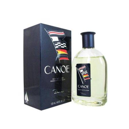 Canoe Eau De Toilette for Men by Dana 4 oz (Pack of 2)