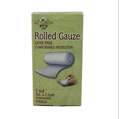 Rolled Gauze 3 inch All Terrain 2.5 yards Rolled Gauze