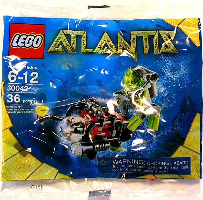 Atlantis Diver Mini Set LEGO 30042 [Bagged]