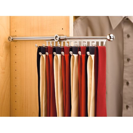Rev-A-Shelf 2.8'' W Pull-Out Tie Rack