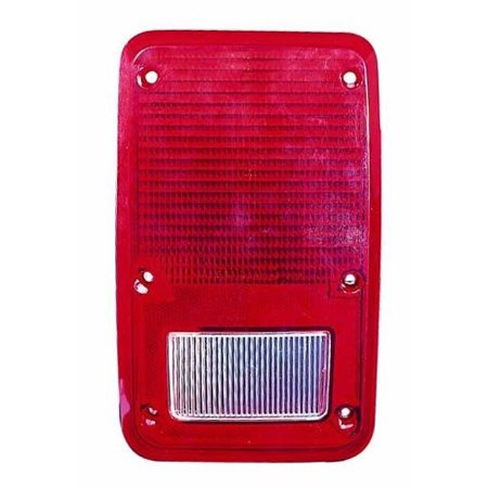 Go-Parts » 1978 - 1980 Plymouth PB200 Tail Light Lens - Left (Driver) Side 4057973 CH2808102 Replacement For Plymouth PB200 ()