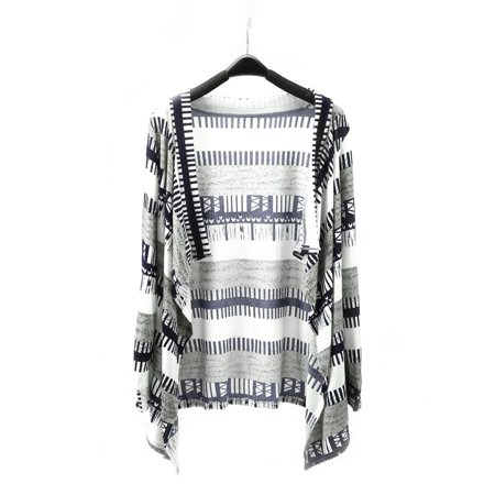 Women's Boho Open Front Chunky Warm Cardigans Loose Casual Pullover Long Sleeve Sweater Blouses