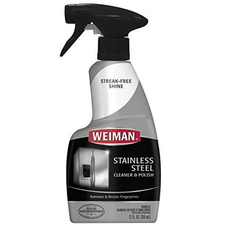 Weiman Stainless Steel Cleaner Amp Polish 12 Fl Oz