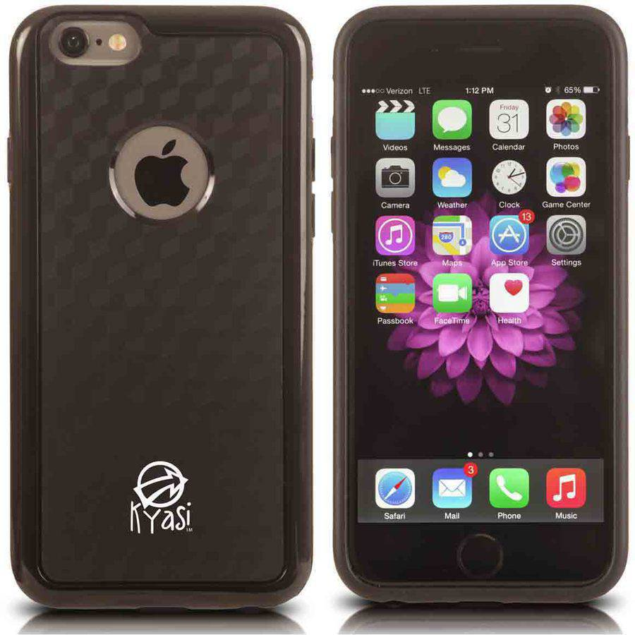 Kyasi Dimensions Case with Bumper Accent Colors for Apple iPhone 6