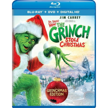 Dr. Seuss' How the Grinch Stole Christmas (Grinchmas Edition) (Blu-ray + DVD + Digital HD) (Digital Dudz Christmas)