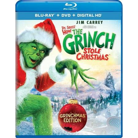 Dr. Seuss' How the Grinch Stole Christmas (Grinchmas Edition) (Blu-ray + DVD + Digital HD) ()