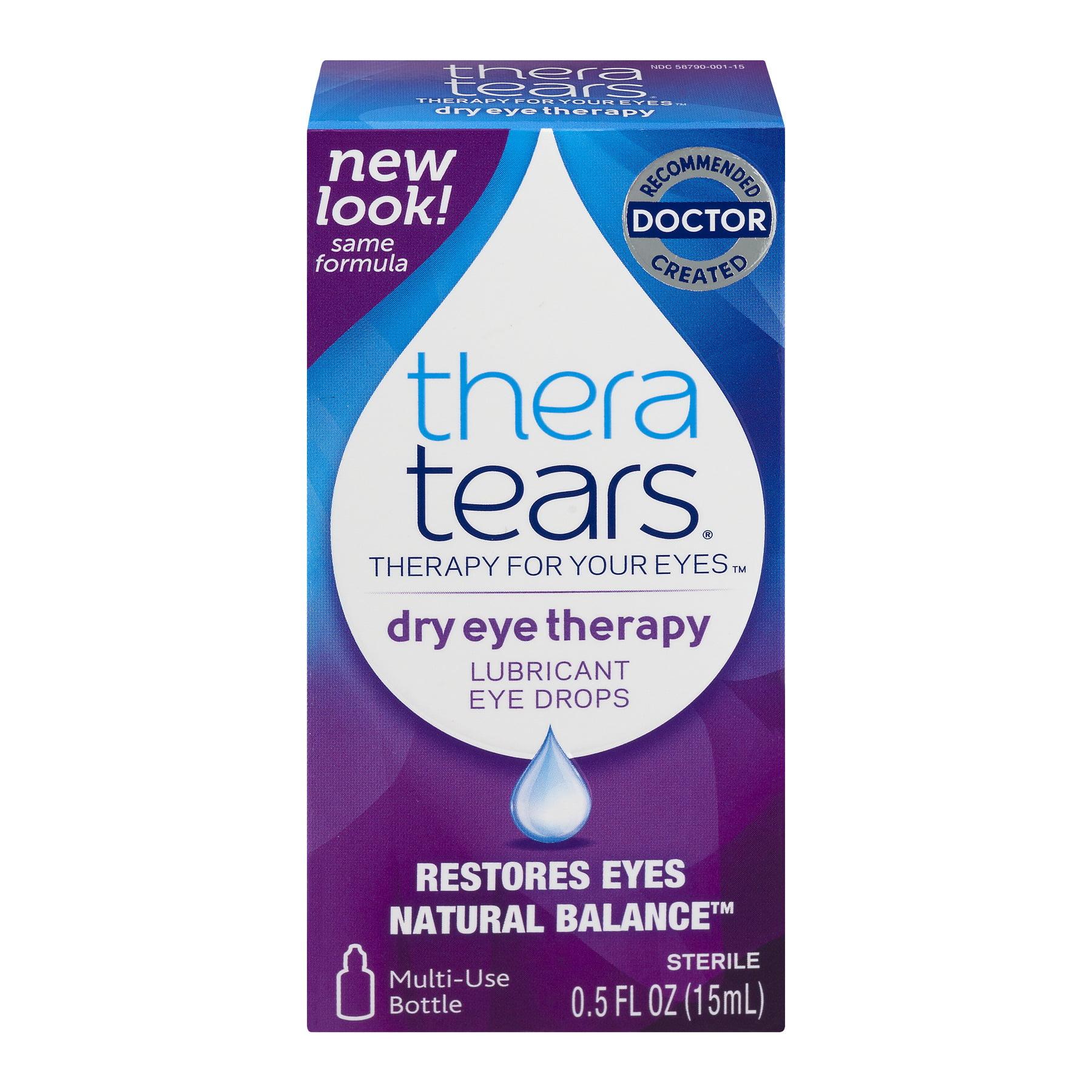 Thera Tears Dry Eyes Therapy Lubricant Eye Drops, 0.5 FL OZ
